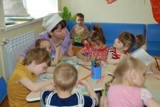 В гости к детям. Детское отделение ТФМЦ