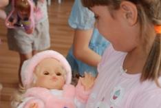 Куклы для маленьких пациенток Детского отделения ТФМЦ