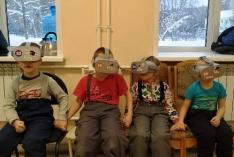 Благотворительный сеанс от Компании Altair VR в Детской туберкулёзной больнице.