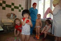 В гостях у ребятишек в Областной детской туберкулёзной больнице.