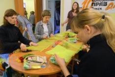 26 мая в 11:00 по адресу: ул. Гагарина, 7/1 состоялся мастер-класс «Семейная реликвия своими руками».