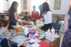 27 мая в 11:00 по адресу: ул. Лебедева, 16, состоялся мастер-класс «Оформление семейного фотоальбома».